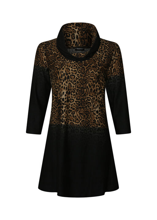 Harlow Animal Print Tunic, , original