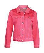 Jacket with Mesh Shoulder Accent, , original image number 0