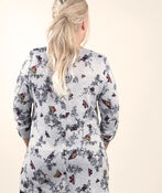 Tunic with Button Up Back, Grey, original image number 1