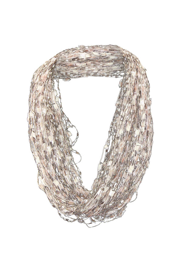 Multi-String Scarf with Magnetic Closure, , original image number 2