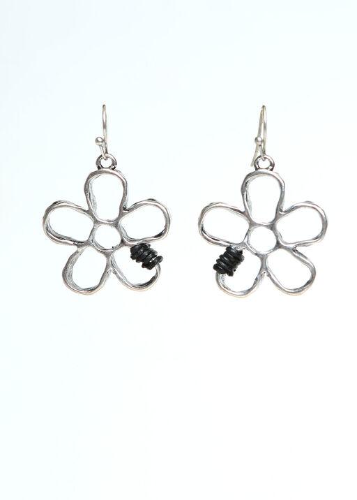 Flower Dangle Earrings, , original