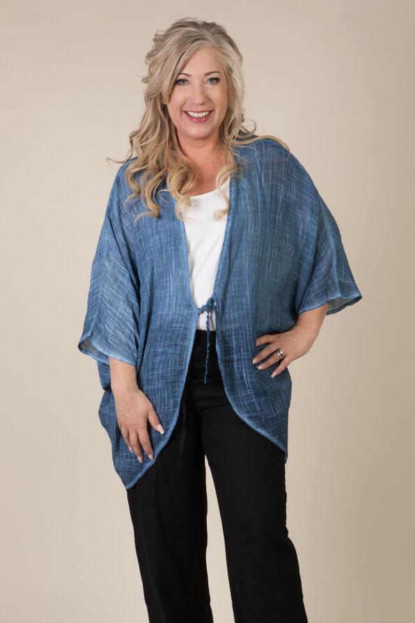 Lace Back Kimono, , original image number 0