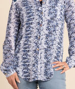 Have It All Blouse, Navy, original image number 2