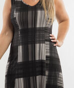 Patricia Sleeveless Dress, Black, original image number 2