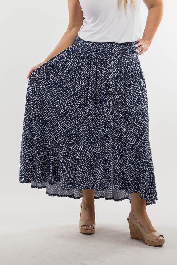 Daphne Skirt, Navy, original image number 1