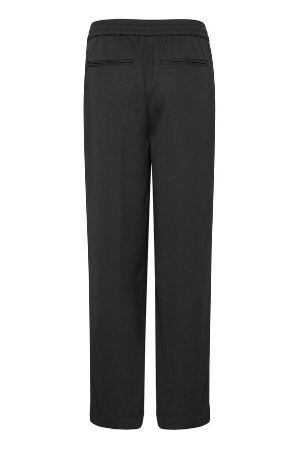 Lara Wide Pant, Black, original image number 5