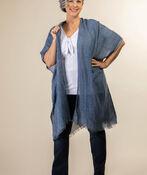 Into the Weave Kimono, Denim, original image number 2