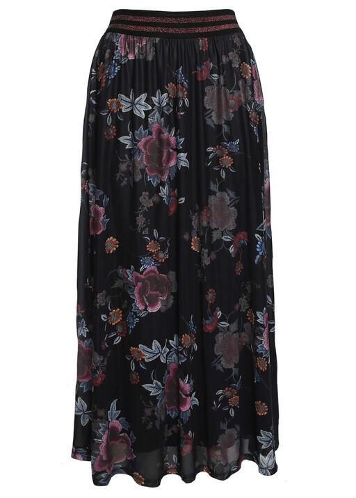 Lennon Floral Maxi Skirt, , original