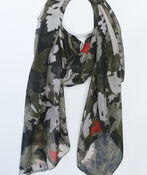 Falling Leaves Fashion Scarf, , original image number 0