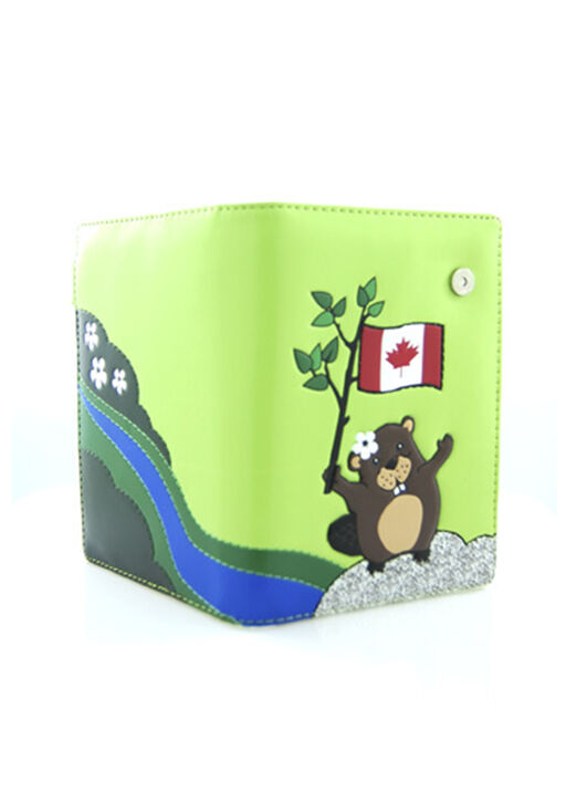 Happy Beaver Passport Holder, , original