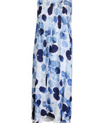 Sleeveless Layered Midi Dress with Pintuck, Blue, original image number 0
