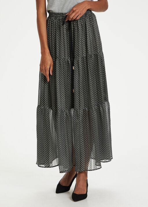 Agnes Skirt Polka Dot Maxi, Green, original