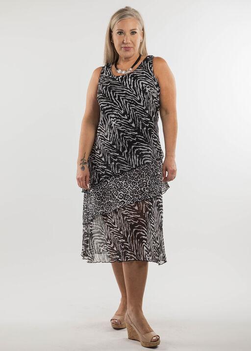 Zebra Print Dress, , original