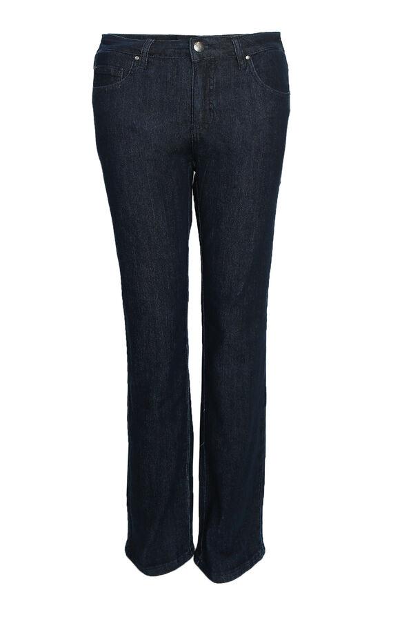 Simon Chang Classic Jeans in Petite, Indigo, original image number 0