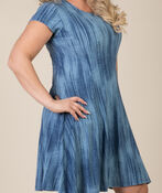 Adeline Shift Dress, Denim, original image number 1
