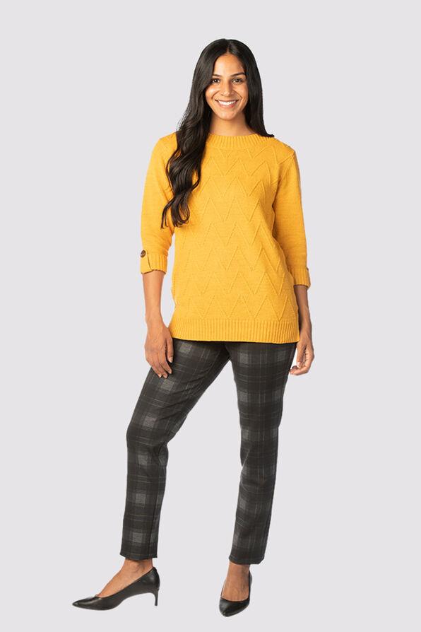 Preppy-Posh Sweater, , original image number 1