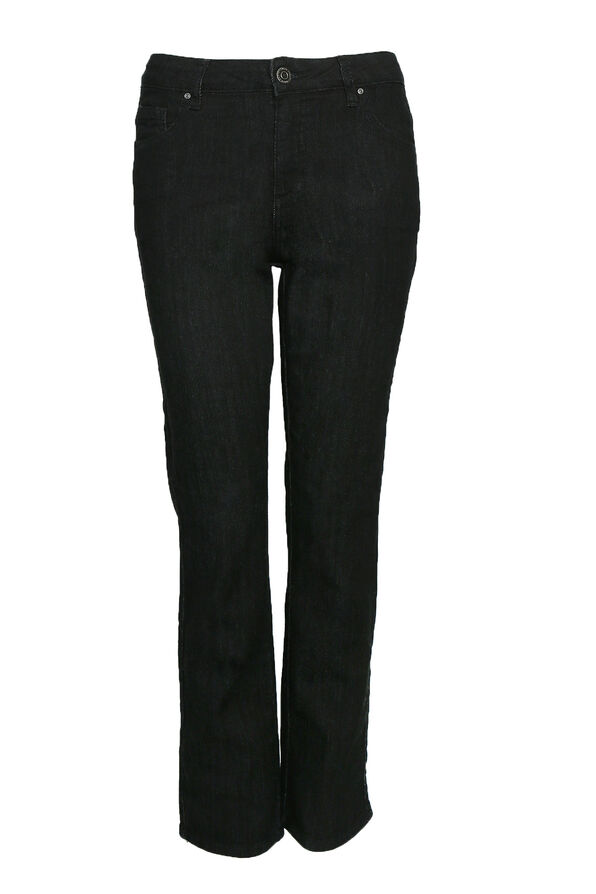 Simon Chang Denim Jean, Black, original image number 0