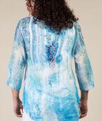 Cassia Blouse, Turquoise, original image number 2