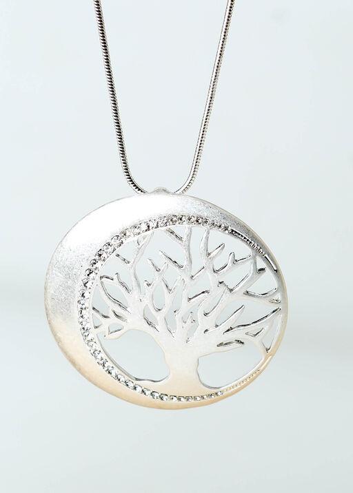 Sparkling Tree Pendant, Silver, original