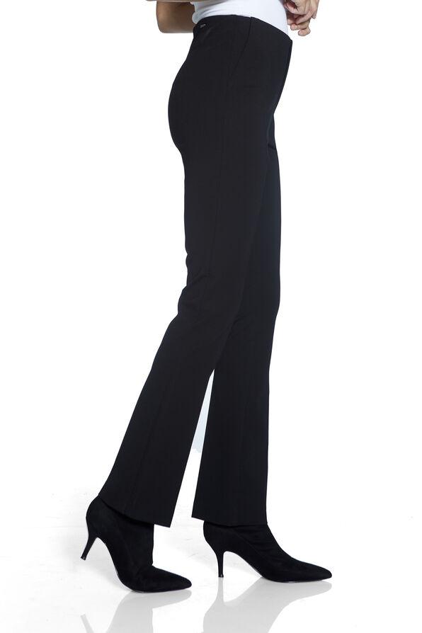 The Hugger-Compression Waist UP! Pants, Black, original image number 2