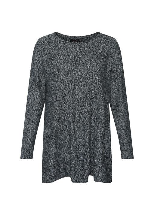 Grey Crew Neck Sweater , Grey, original