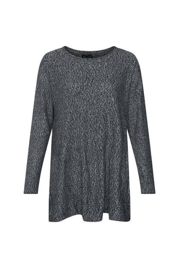 Grey Crew Neck Sweater , Grey, original image number 0