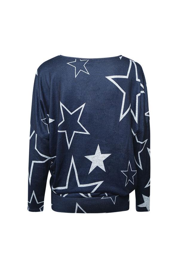 Rising Star Sweater, Navy, original image number 1