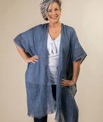 Into the Weave Kimono, Denim, original image number 0