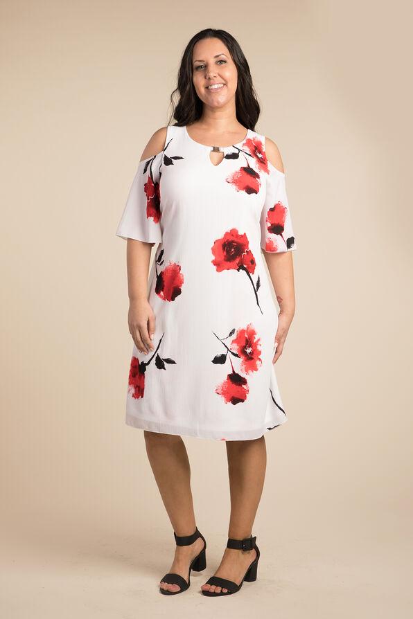 Cold Shoulder Dress, , original image number 1