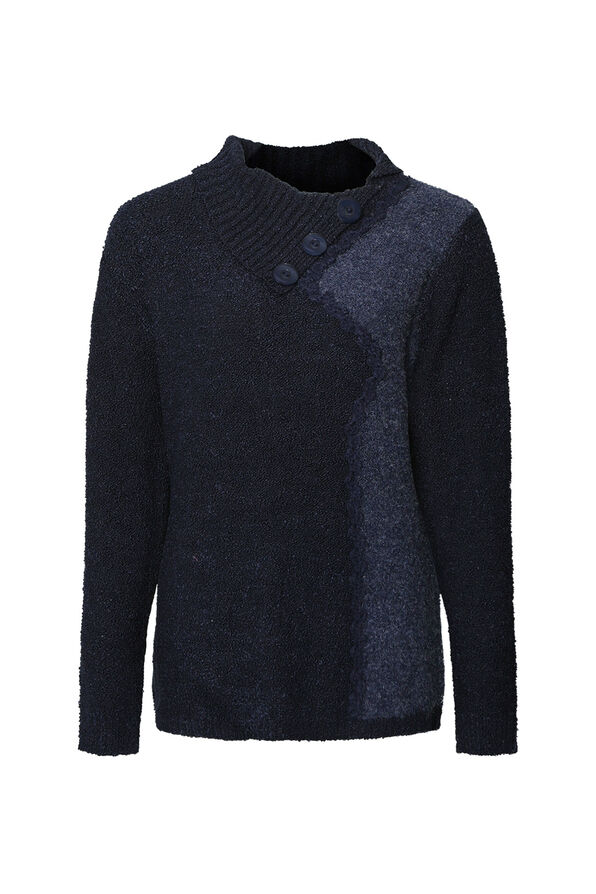 Boucle Knit Sweater, , original image number 2