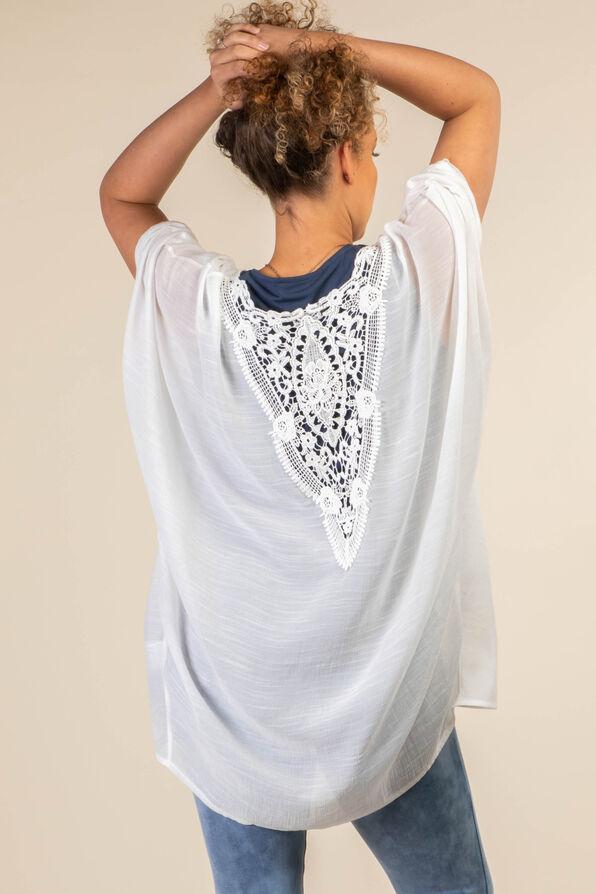 Lace Back Kimono, , original image number 1