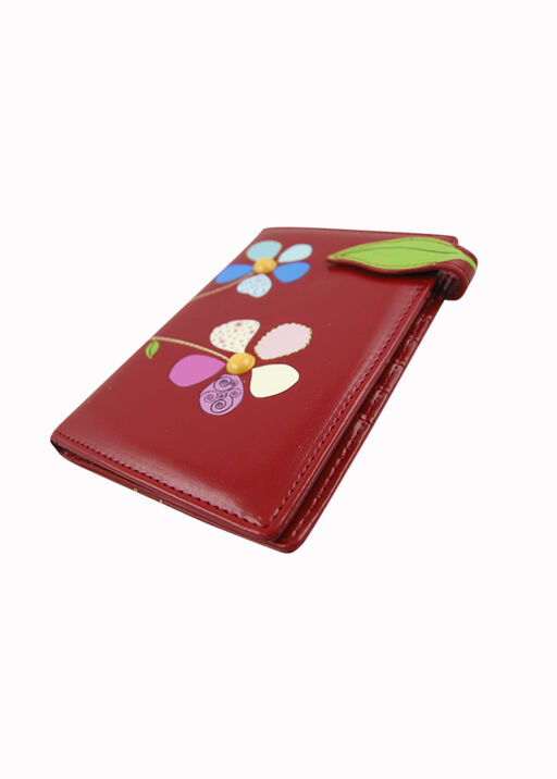 Red Patchwork Passport Holder, , original