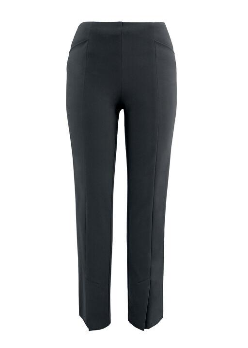 Up Compression Pants with Ankle Slit, Black, original