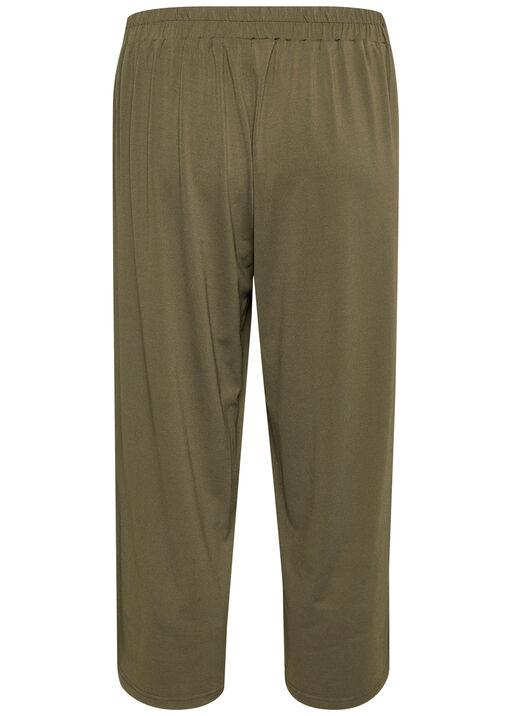 Kaffe Malli Pants Wide Leg Crop, Green, original