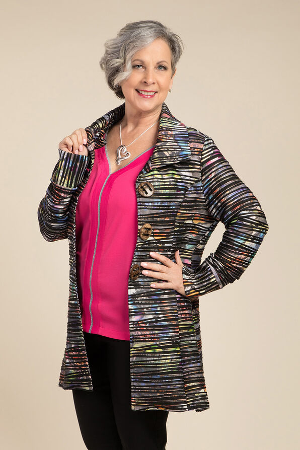 Lightweight Multi-Colour Jacket, Multi, original image number 0