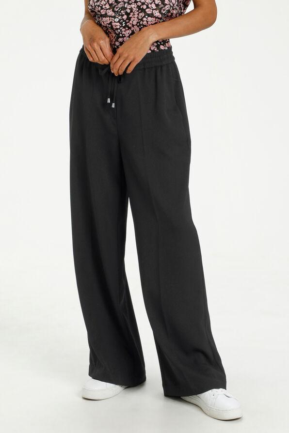 Lara Wide Pant, Black, original image number 0