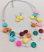 Candied Necklace and Earring Set, , original image number 0