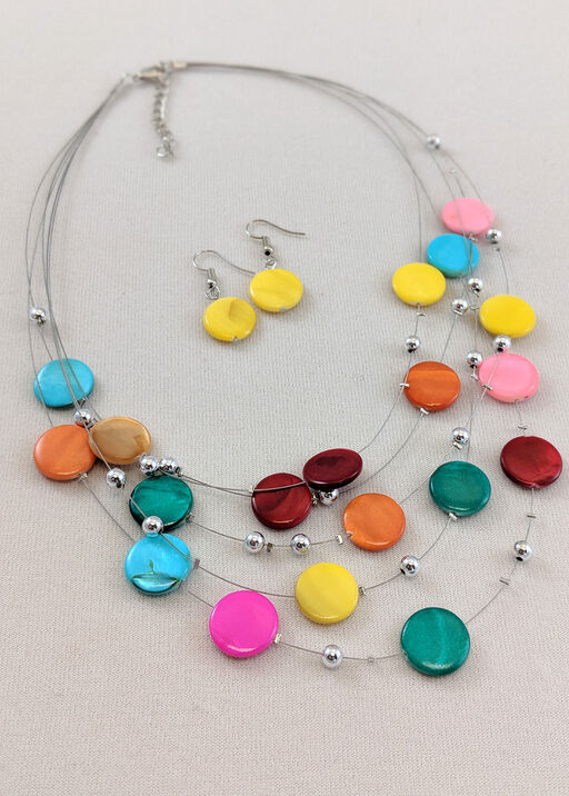 Candied Necklace and Earring Set, , original