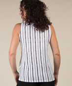 Michelle Sleeveless Top, White, original image number 2