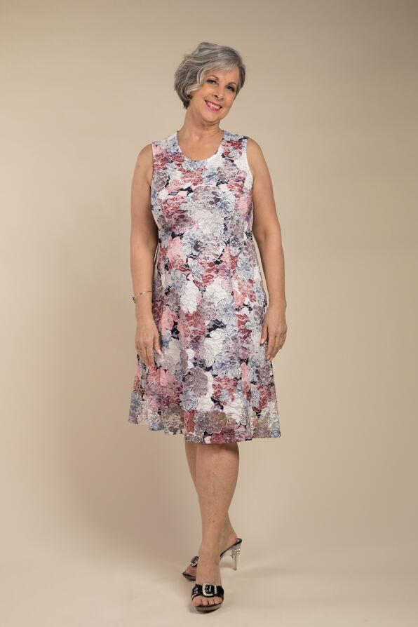 Maci Sleeveless Dress, Navy, original image number 1