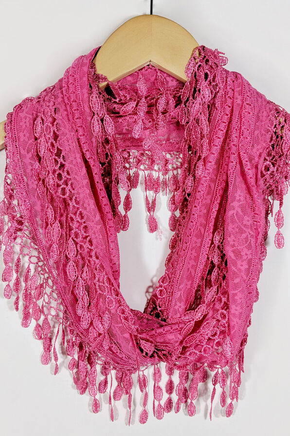 Infinity Lace Scarf, , original image number 1