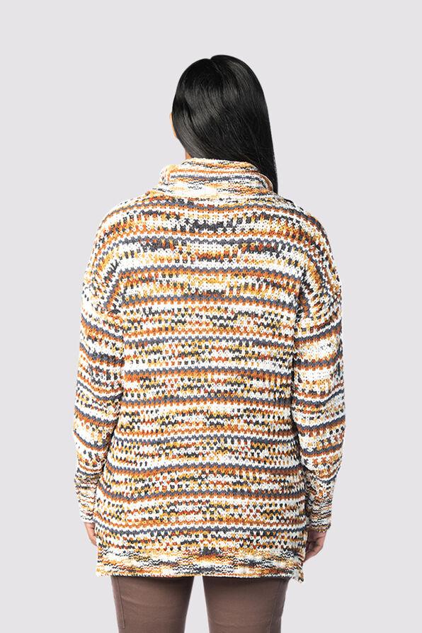 Dream Cowl Sweater, Rust, original image number 2