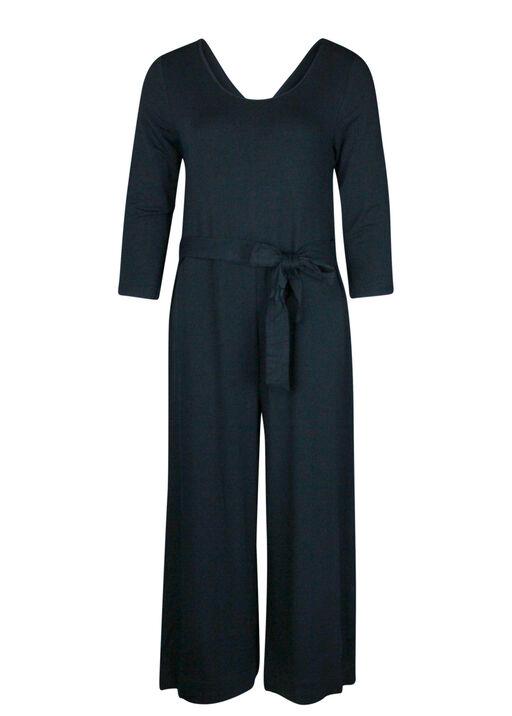 Wide Leg Jumpsuit, Black, original