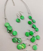 Candied Necklace and Earring Set, , original image number 1