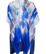 Tie Dye Kimono, Blue, original image number 0
