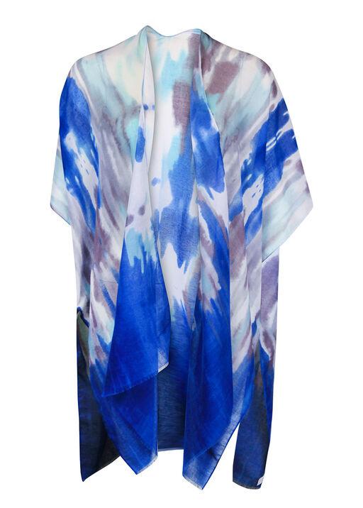 Tie Dye Kimono, Blue, original