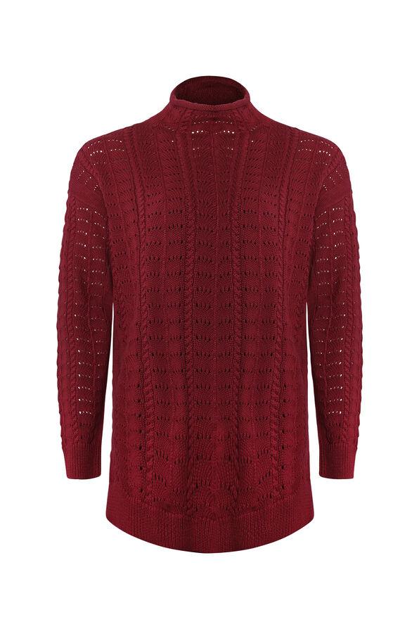 Cadenza Mock Neck Sweater, , original image number 0