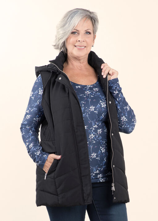 Outerwear Vest with Detachable Hood, , original