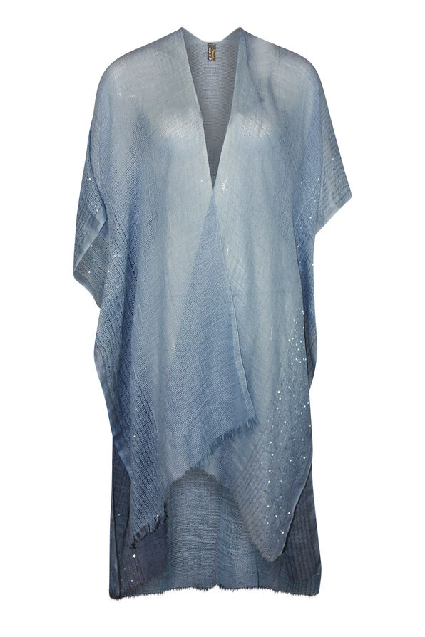 Cotton Kimono with Sequins, , original image number 0