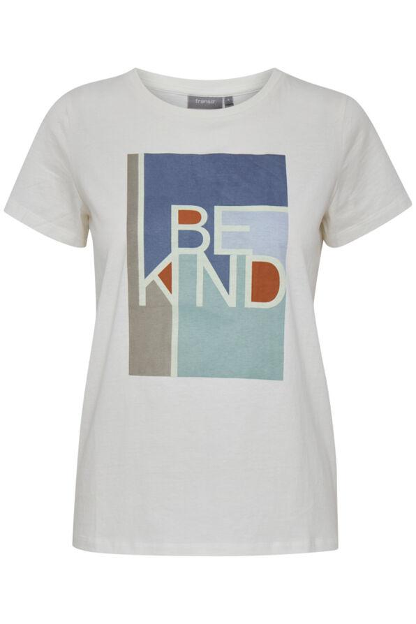 Be Kind Tee, Cream, original image number 0